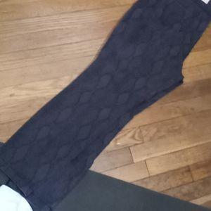 NYDJ Nip and tuck snake skin jeans